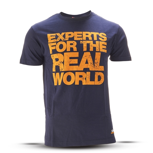 """Picture of T-Shirt, Men, """"Experts For The Real World"""""""