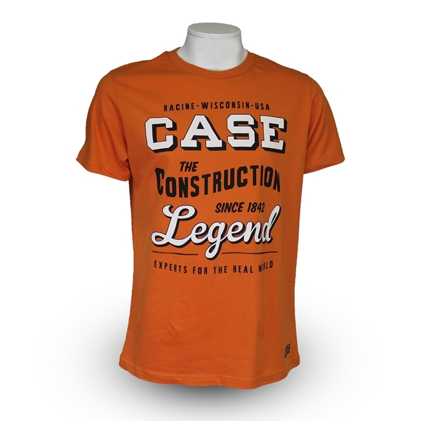 case t shirt herren vintage orange. Black Bedroom Furniture Sets. Home Design Ideas