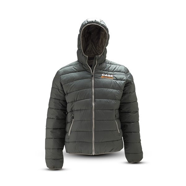 Picture of Mens Hooded Quilted Jacket