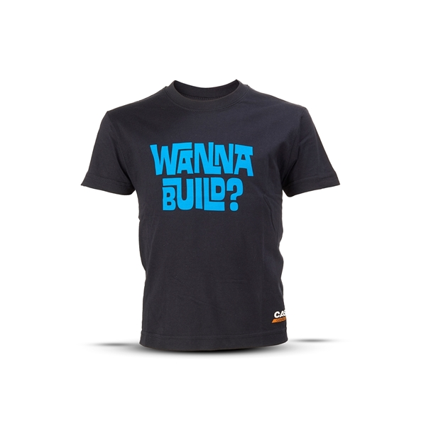 "Picture of T-Shirt, Children ""Wanna Build?"""